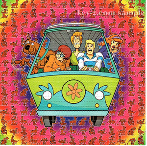 Scooby Doo Mystery Machine BLOTTER ART acid free perforated lsd paper