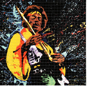 Jimi Hendrix BLOTTER ART acid free perforated lsd paper