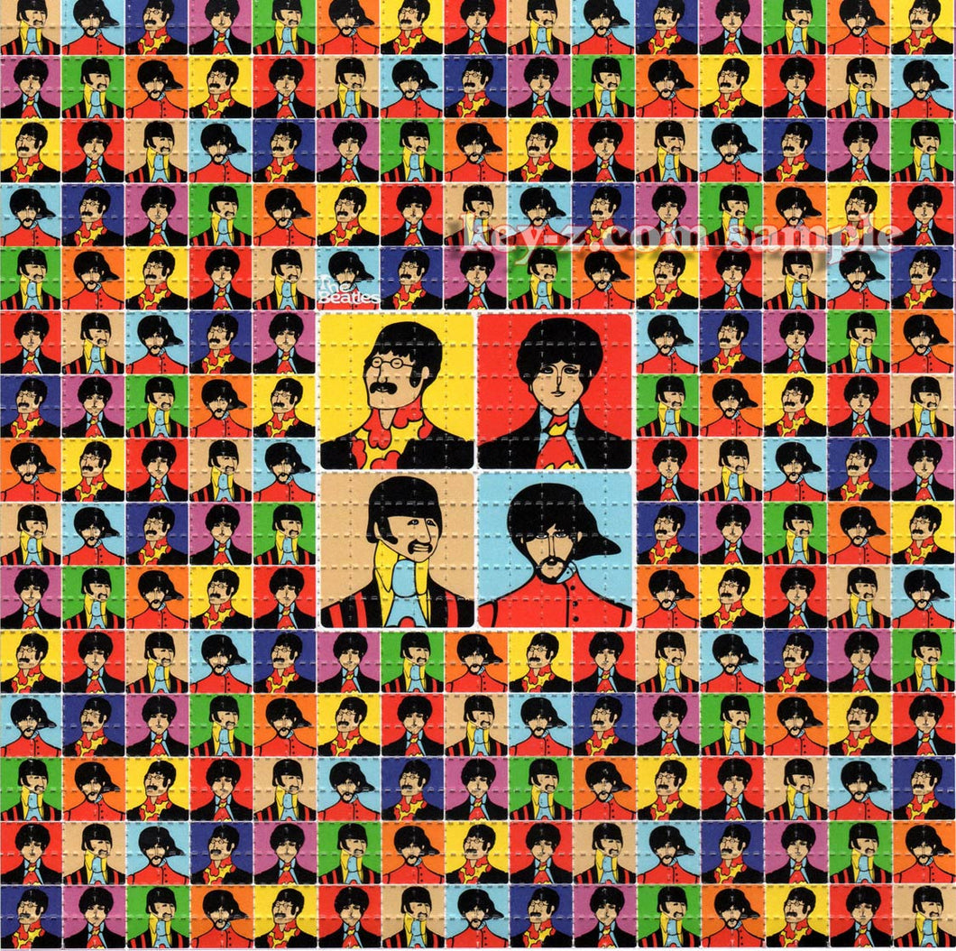 Beatles BLOTTER ART acid free perforated lsd paper