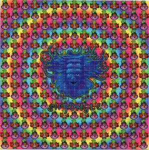 Shpongle BLOTTER ART acid free perforated lsd paper