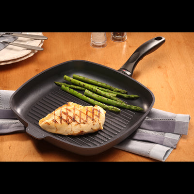 Square Grill Pan 28 cm Induction | XD Nonstick