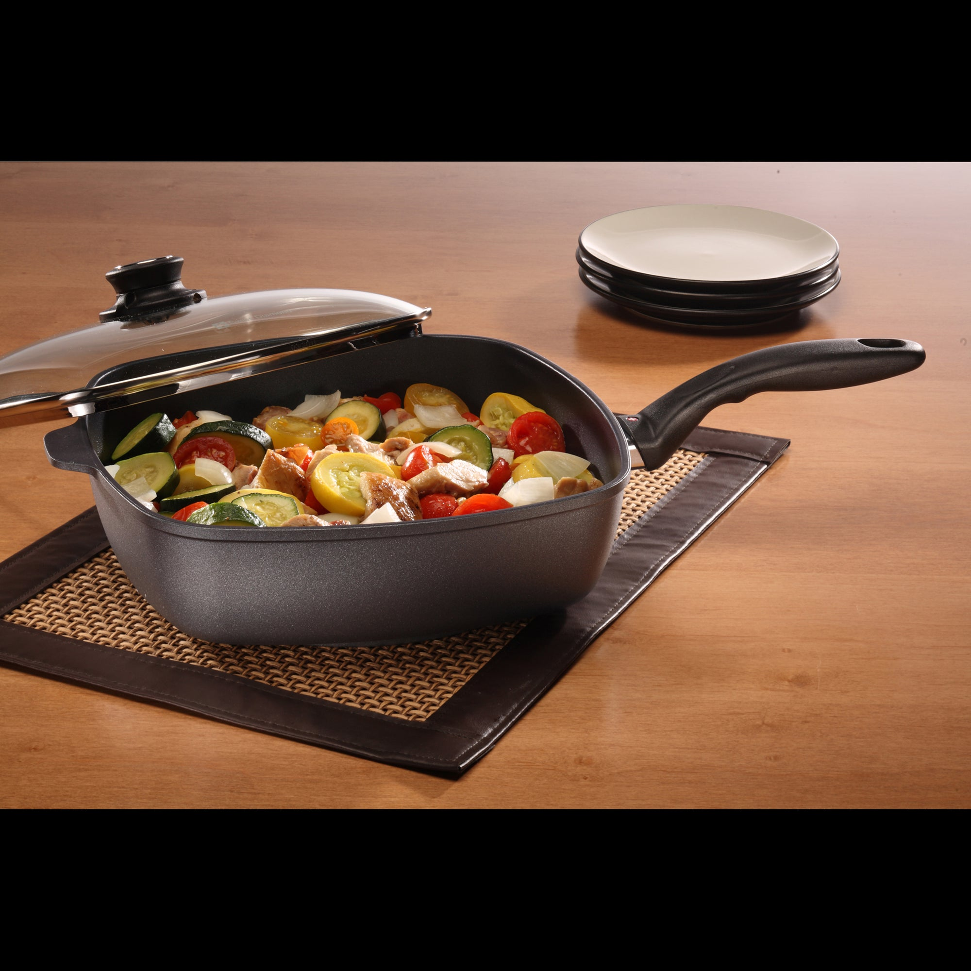 Square Saute with lid 28 cm Induction | XD Nonstick