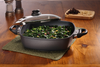Nonstick Induction Square Casserole with Lid 28cm | HD Classic