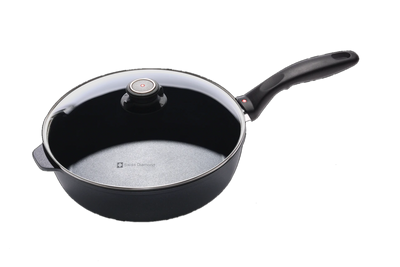 Nonstick Induction Saute Pan with Lid 26cm | HD Classic