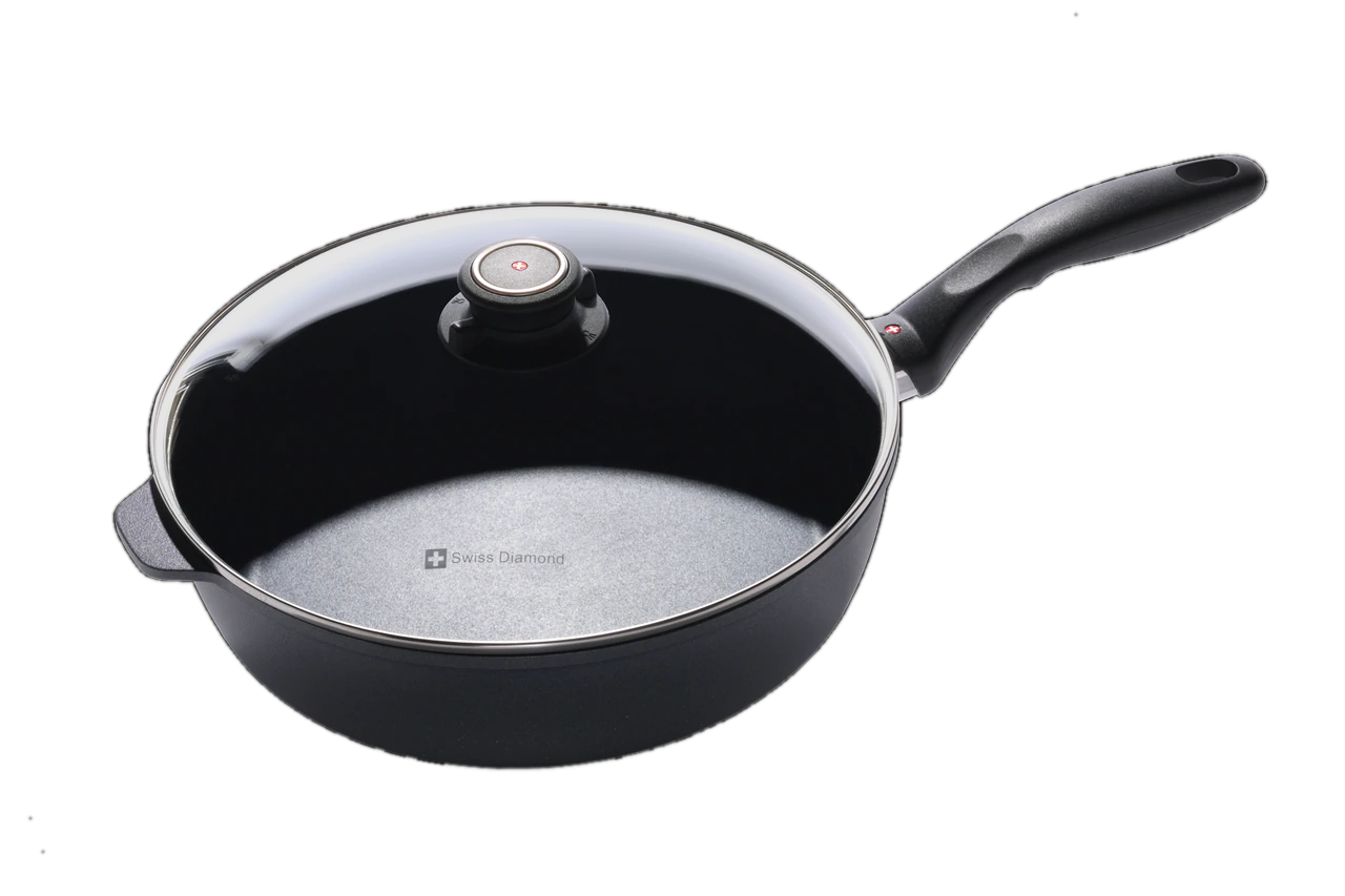 Nonstick Induction Saute Pan with Lid 28cm | HD Classic