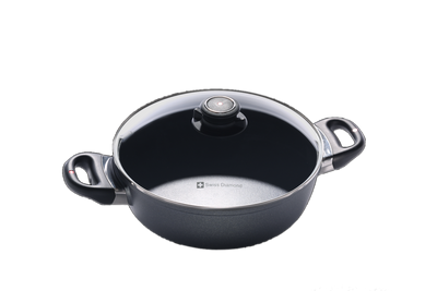 Nonstick Induction Saute Pan with Lid 24cm | HD Classic