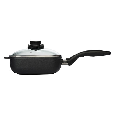 Square Saute Pan with lid 20 cm | XD Nonstick