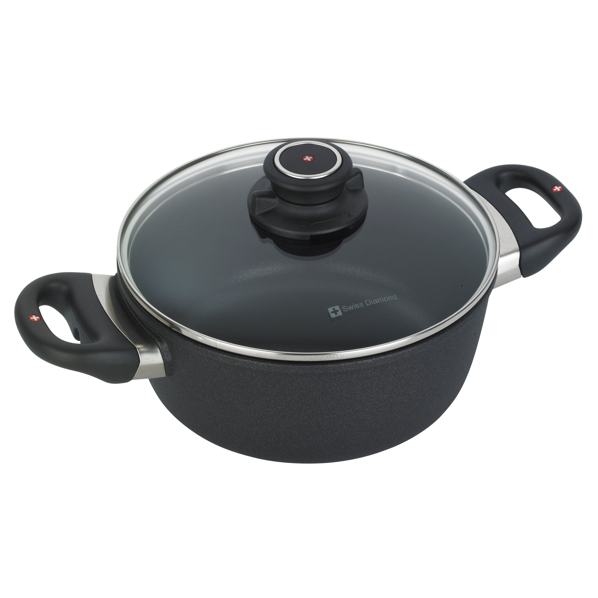 Casserole with lid 20 cm | XD Nonstick