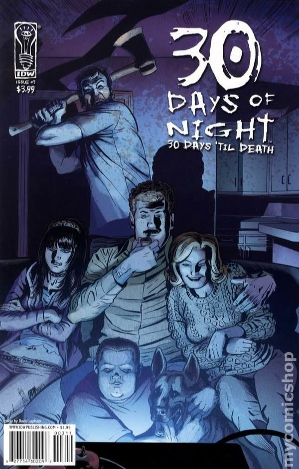 30 Days of Night 30 Days til Death (2008) #3A