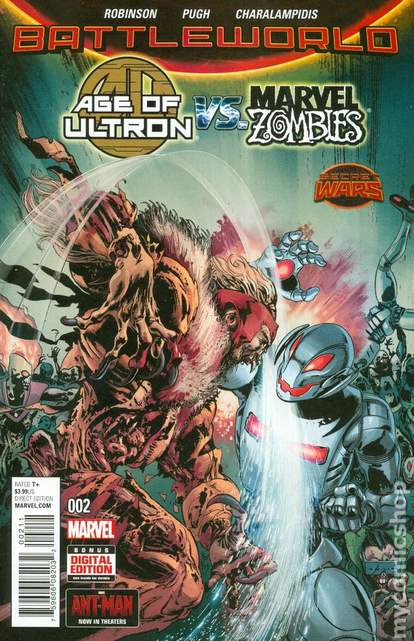 Age of Ultron vs. Marvel Zombies (2015) #2A