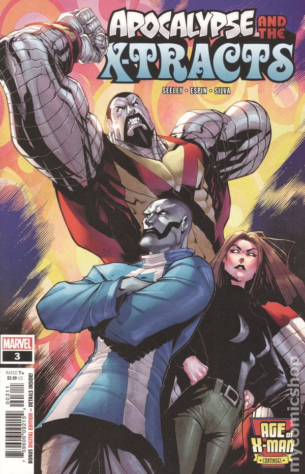 Age of X-Man Apocalypse and the X-Tracts (2019 Marvel) #3