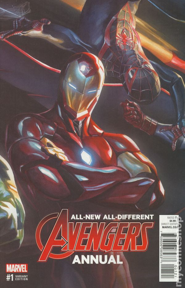 All New All Different Avengers Annual (2016) #1B
