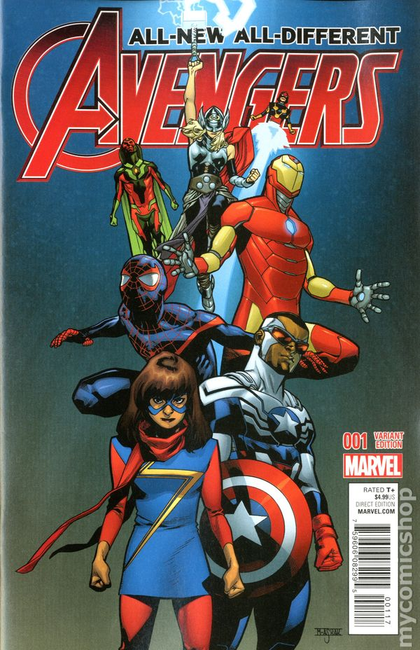 All New All Different Avengers (2015) #1C
