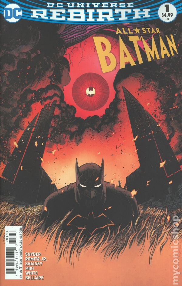 All Star Batman (2016) #1D (Rebirth)