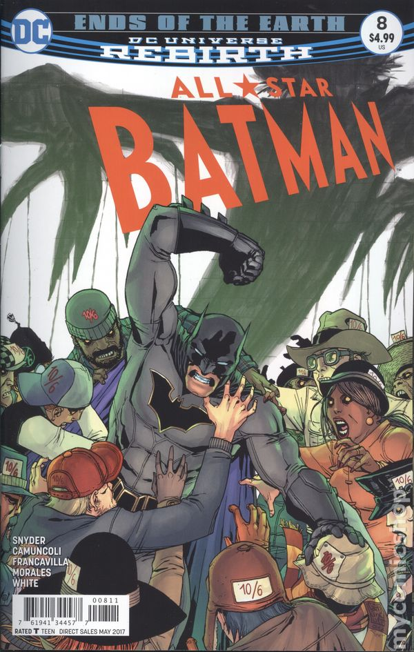 All Star Batman (2016) #8A