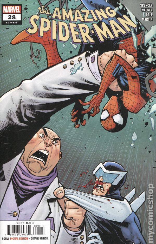 Amazing Spider-Man (2018 6th Series) #28A