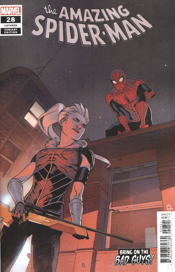 Amazing Spider-Man (2018 6th Series) #28B