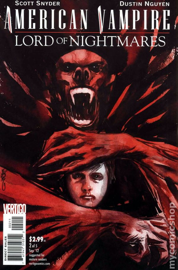 American Vampire Lord of Nightmares (2012) #2