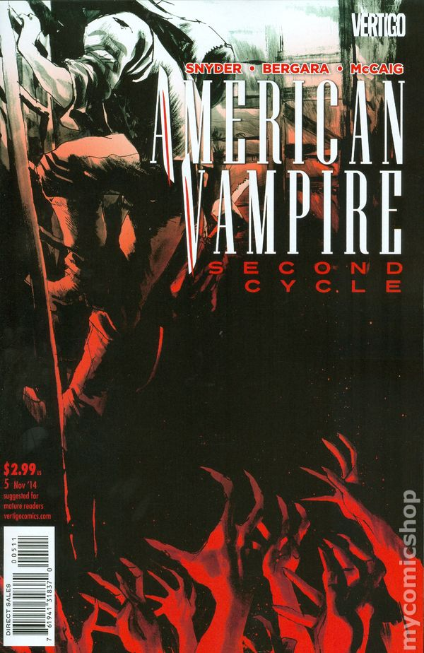 American Vampire Second Cycle (2014) #5