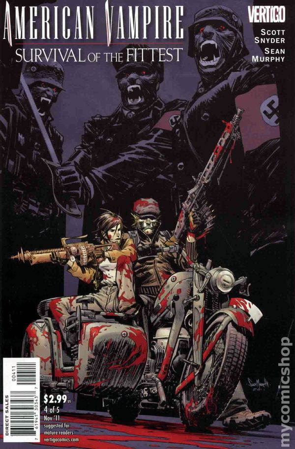 American Vampire Survival of the Fittest (2011) #4