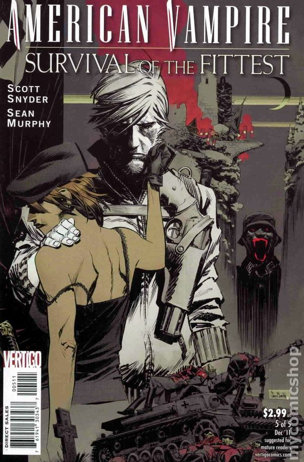 American Vampire Survival of the Fittest (2011) #5