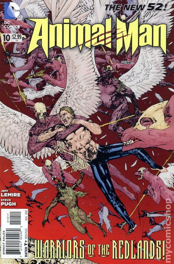 Animal Man (2011 2nd Series) #10