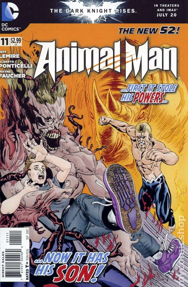 Animal Man (2011 2nd Series) #11
