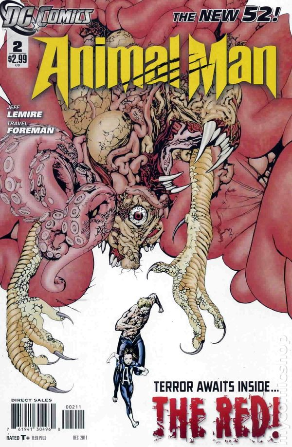Animal Man (2011 2nd Series) #2A