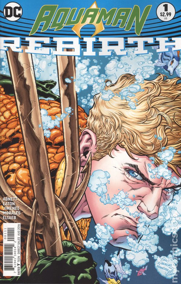 Aquaman Rebirth (2016) #1A