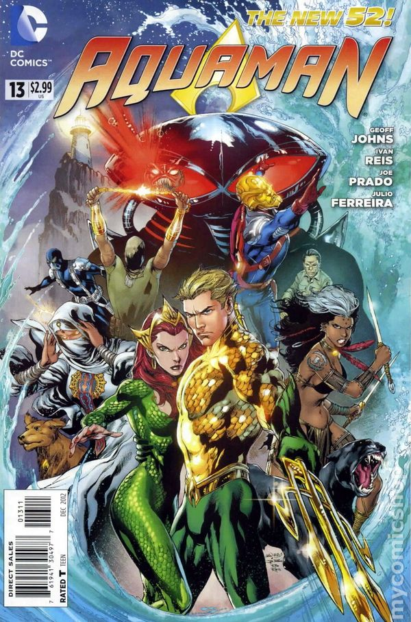 Aquaman (2011 5th Series) #13A