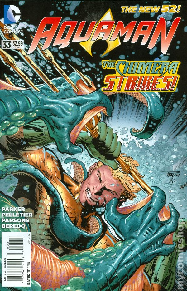 Aquaman (2011 5th Series) #33A
