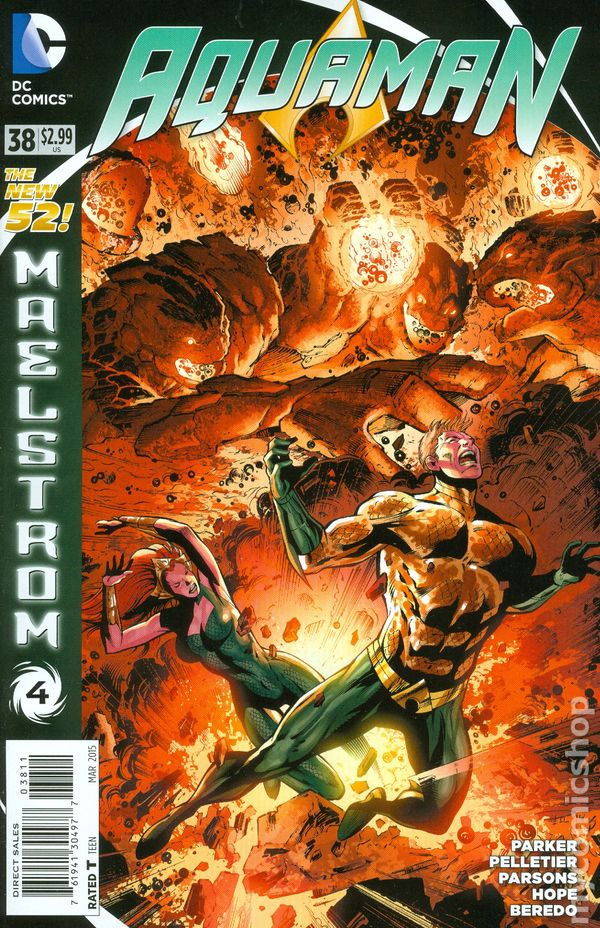 Aquaman (2011 5th Series) #38A