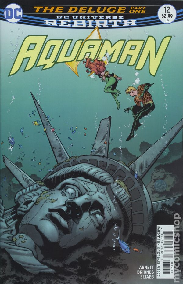Aquaman (2016 6th Series) #12A Rebirth