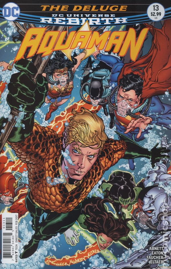 Aquaman (2016 6th Series) #13A Rebirth