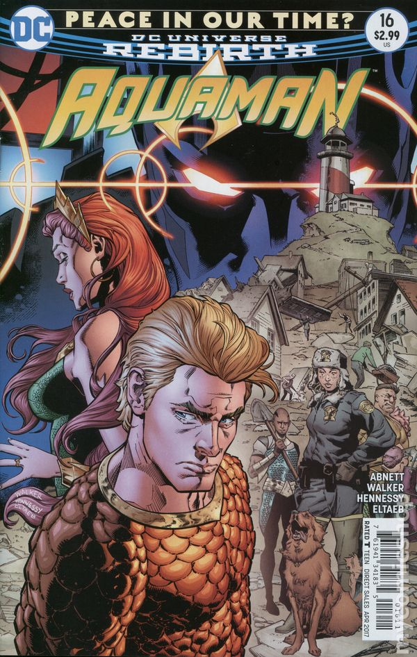 Aquaman (2016 6th Series) #16A Rebirth