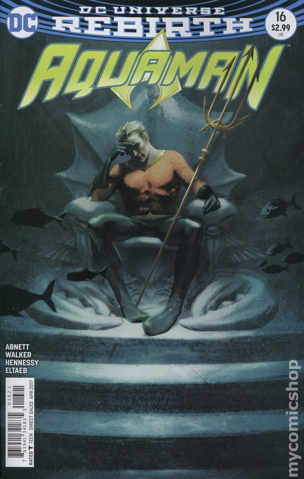 Aquaman (2016 6th Series) #16B Rebirth