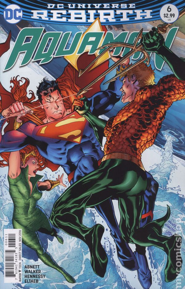 Aquaman (2016 6th Series) #6A Rebirth