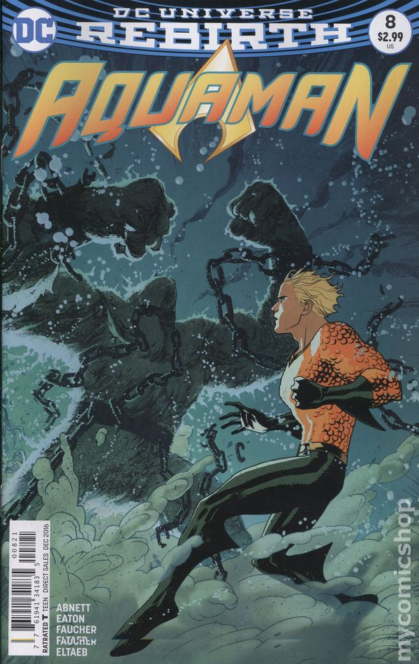 Aquaman (2016 6th Series) #8B Rebirth