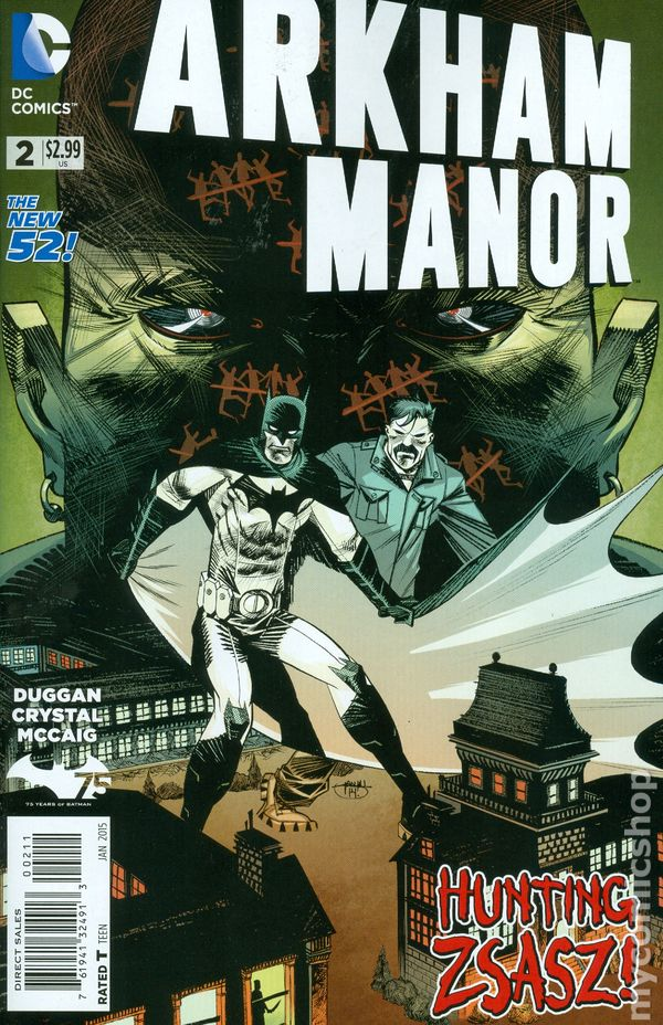 Arkham Manor (2014) #2A