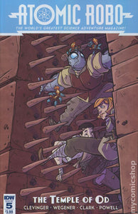 Atomic Robo and The Temple of Od (2016 IDW) #5
