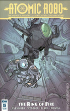 Load image into Gallery viewer, Atomic Robo and the Ring of Fire (2015 IDW) Complete Set 1-5