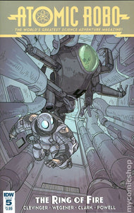 Atomic Robo and the Ring of Fire (2015 IDW) Complete Set 1-5