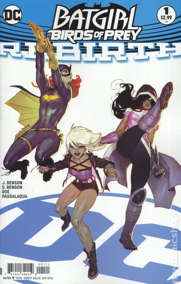 Batgirl and the Birds of Prey Rebirth (2016) #1B