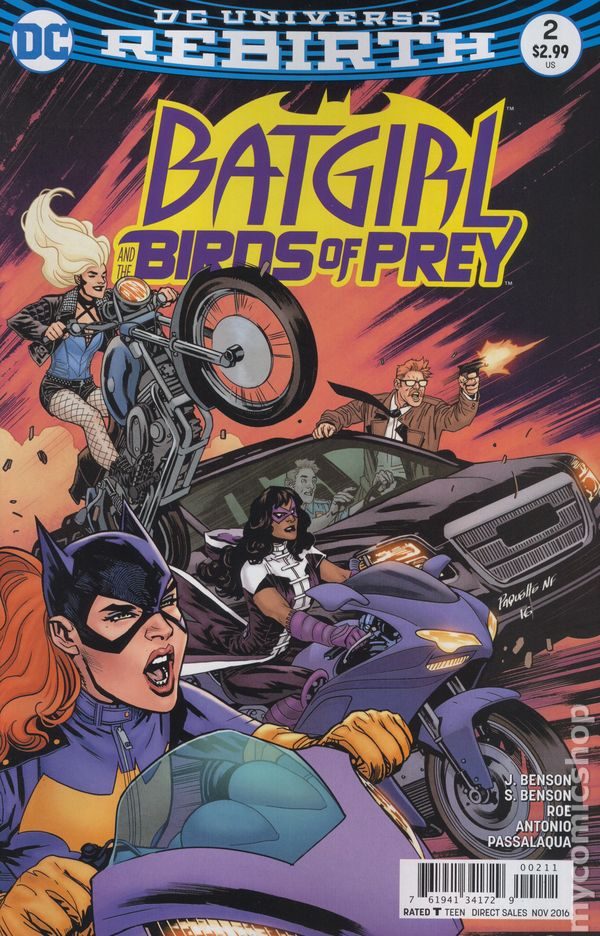Batgirl and the Birds of Prey (2016) #2A (Rebirth)