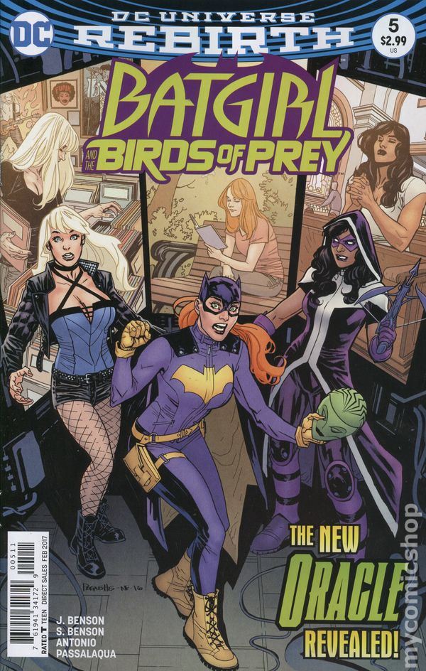Batgirl and the Birds of Prey (2016) #5A (Rebirth)