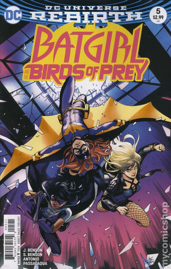 Batgirl and the Birds of Prey (2016) #5B (Rebirth)