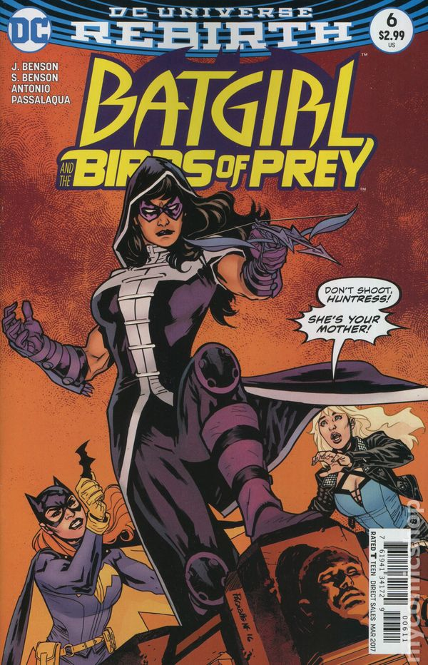 Batgirl and the Birds of Prey (2016) #6A (Rebirth)