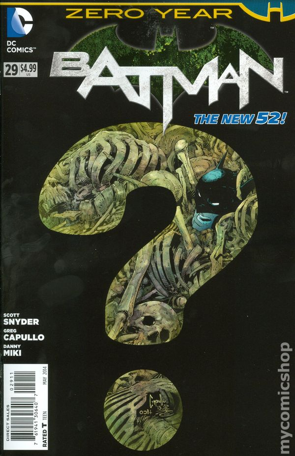 Batman (2011 2nd Series) #29A