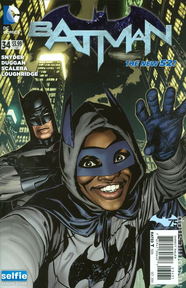 Batman (2011 2nd Series) #34B