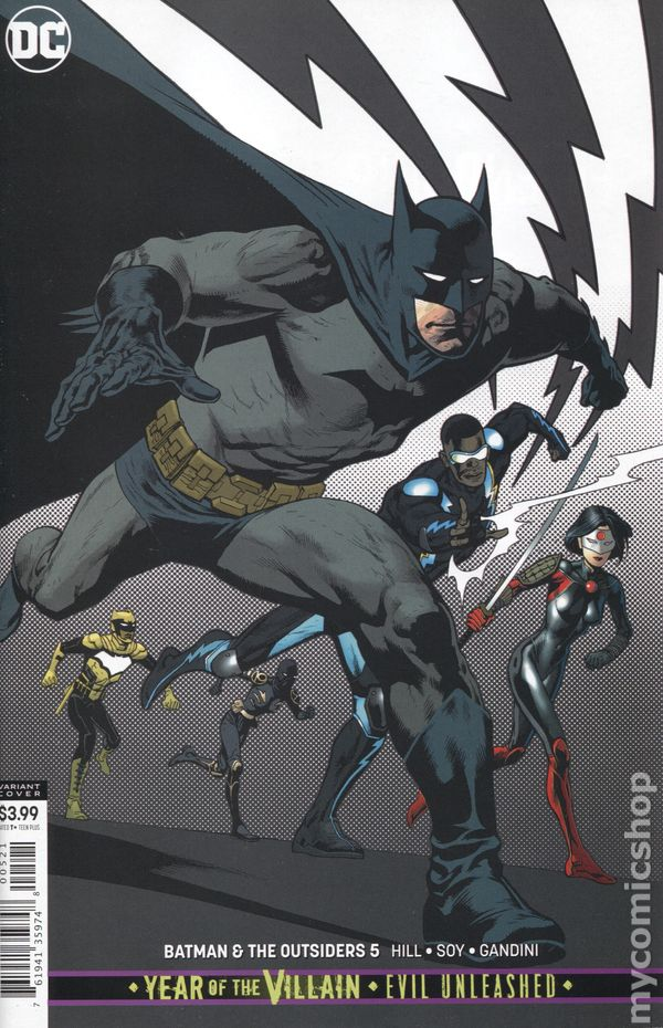 Batman and the Outsiders (2018 3rd Series) #5B